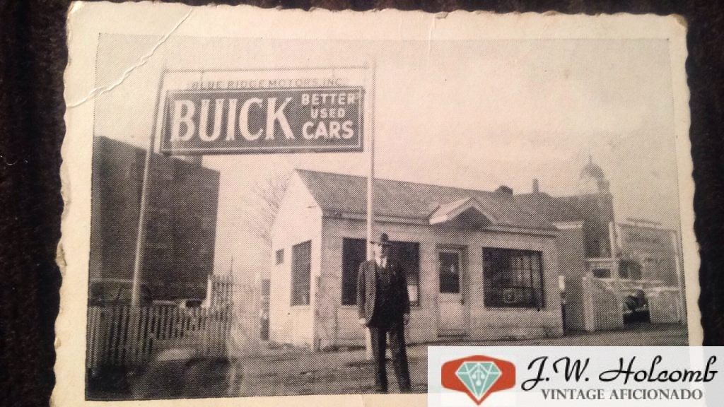Blue Ridge Motors Inc Vintage photo Roanoke VA