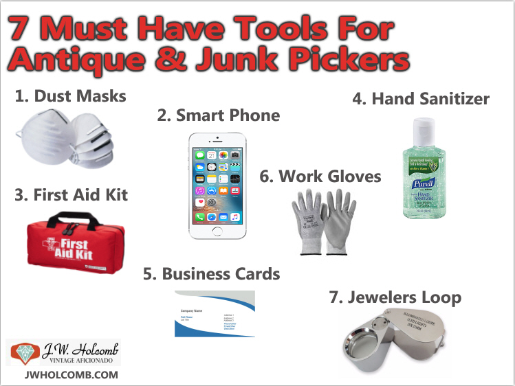 junk picking tools and tips