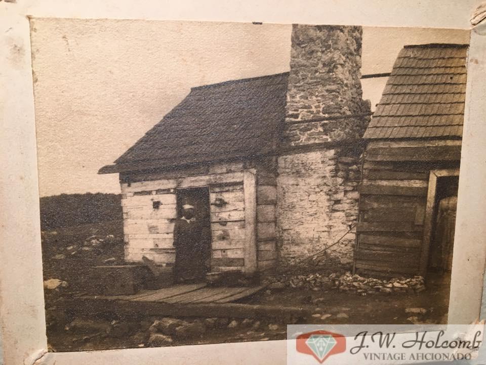 1880s Slave Women In Cabin Shack Doorway CDV Cabinet Card Antique Photo