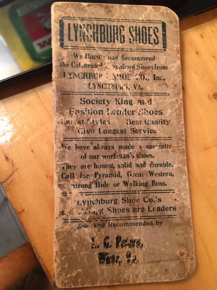 Lynchburg VA Shoe Company Vintage Booklet