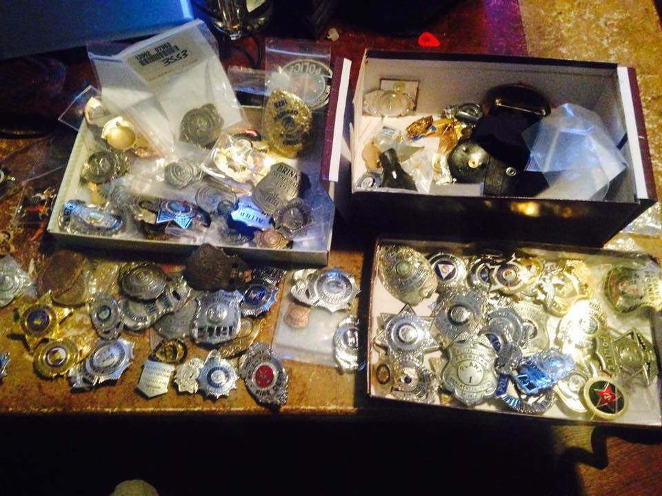 Large Vintage Badge Collection Great Find