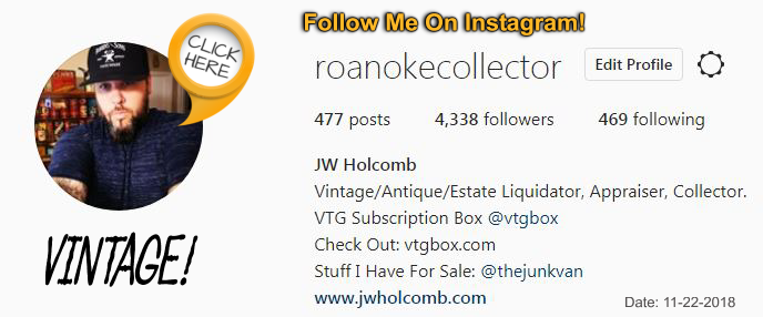 Finding Vintage Seller & Antique Picker Accounts To Follow
